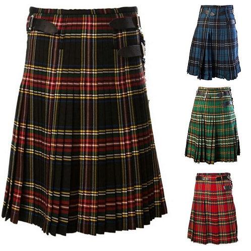 Classic Plaid Scottish Kilt