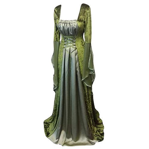 Medieval Lace Up Celtic Dress