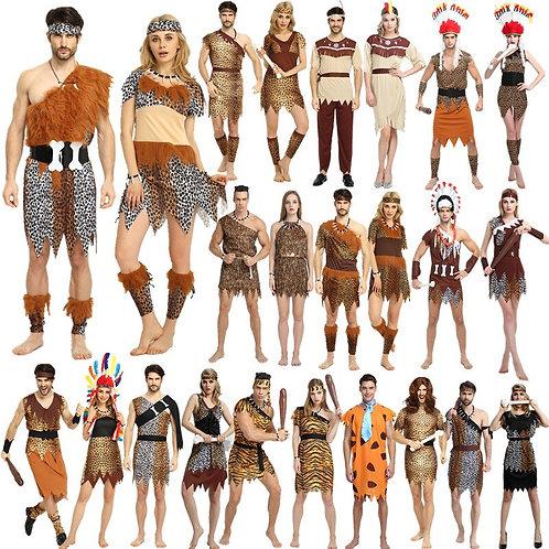 Adult Primitive Caveman Costumes