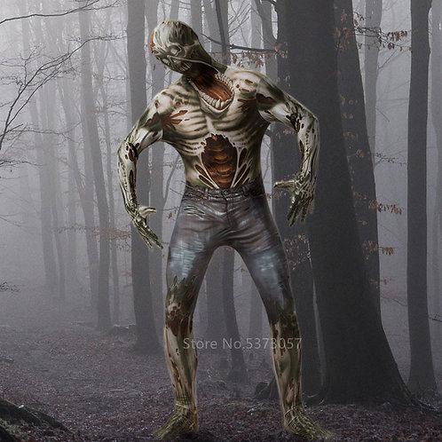 Halloween Scary Zombie Costume Jumpsuit