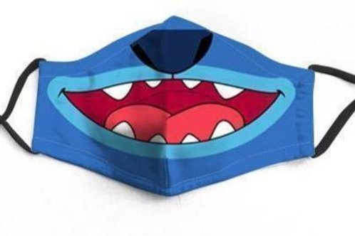 Stitch Character Face-Mask