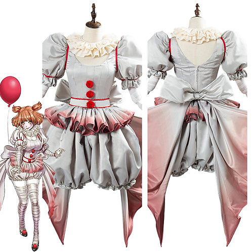 """It"" Pennywise Lolita Style Cosplay Costume"