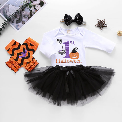 Baby Tutu 1st Halloween Outfit