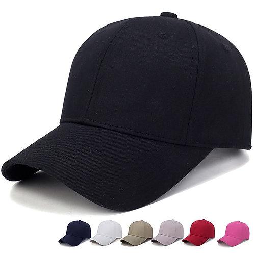 Adult Basic Solid Color Baseball Hat