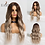 Thumbnail: EASIHAIR Long Ombre Brown Synthetic Wig