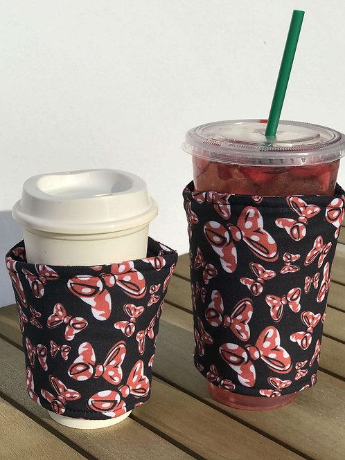 Mini Bows Coffee Sleeve