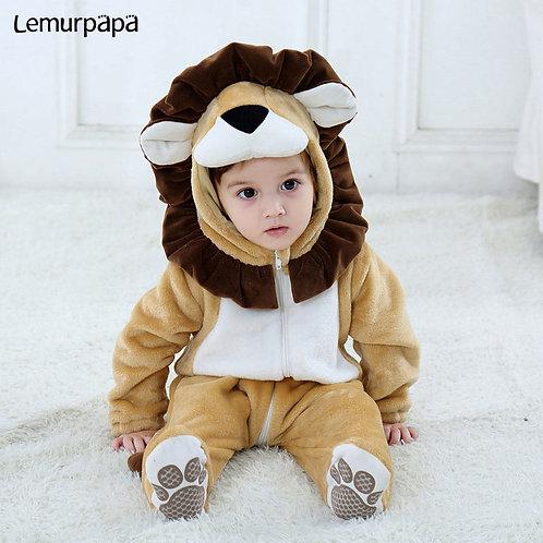 Baby Lion Onesie Costume
