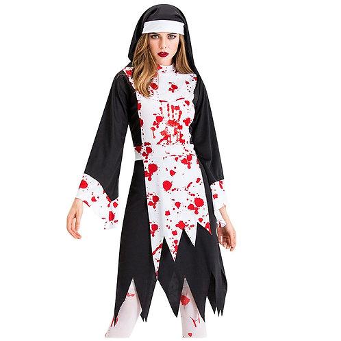 Bloody Nun Costume