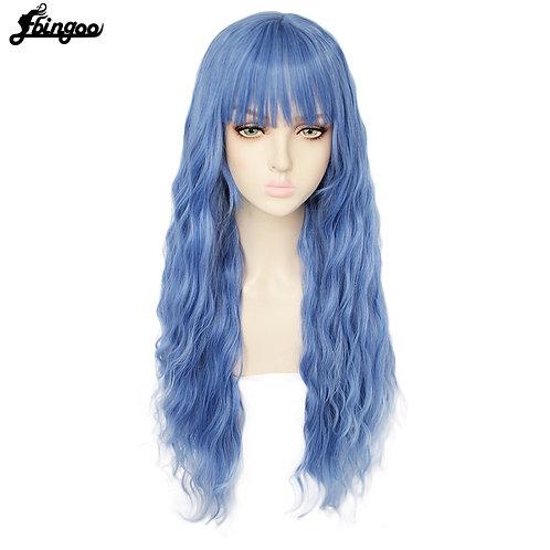 Ebingoo Long Deep Wave Synthetic Wig