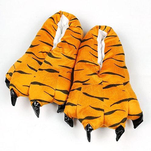 Plush Animal Feet Slippers