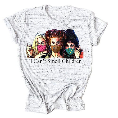 "Hocus Pocus ""I Can't Smell Children"" Tee Shirt"