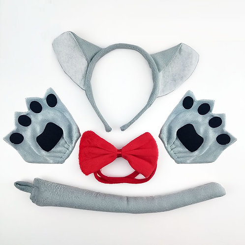 Wolf Headband & Accessories Set