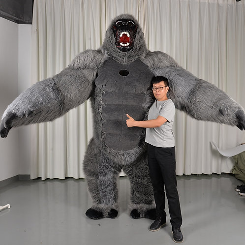 Deluxe Inflatable King Kong Costume
