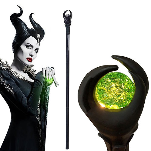 """Maleficent"" Magic Scepter Prop"