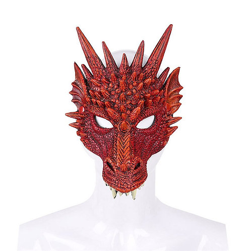 Dragon Cosplay Costume Mask & Wings