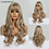 Thumbnail: LOUIS FERRE Long Wavy  Wig With Bangs