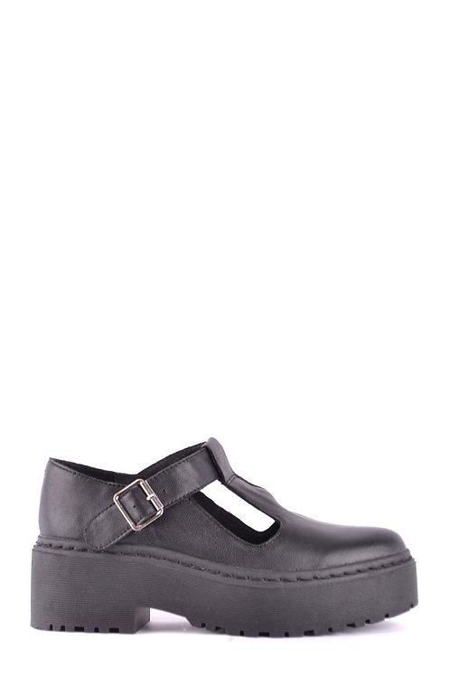"""Jeffrey"" Platform T Strap Mary Jane Shoes"