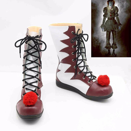 """""""Stephen King's It"""" Pennywise Cosplay Costume Shoes"""