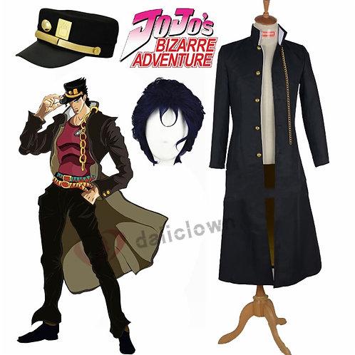 """""""JoJo's Bizarre Adventure"""" Jotaro Kujo Cosplay Costume"""