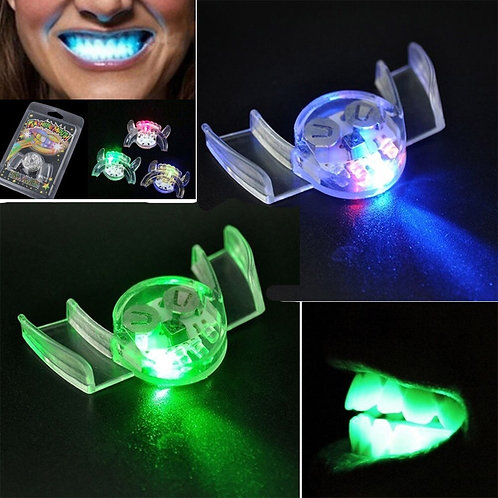 Flashing LED Light Up Mouth Piece