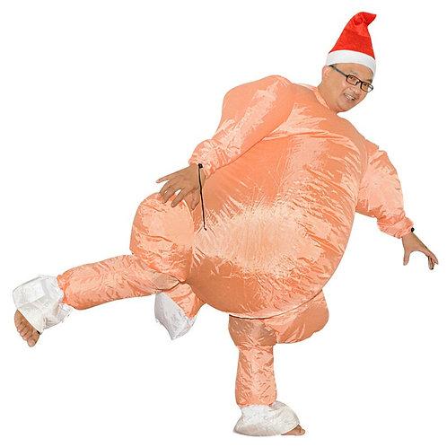 Roast Turkey Inflatable Costume