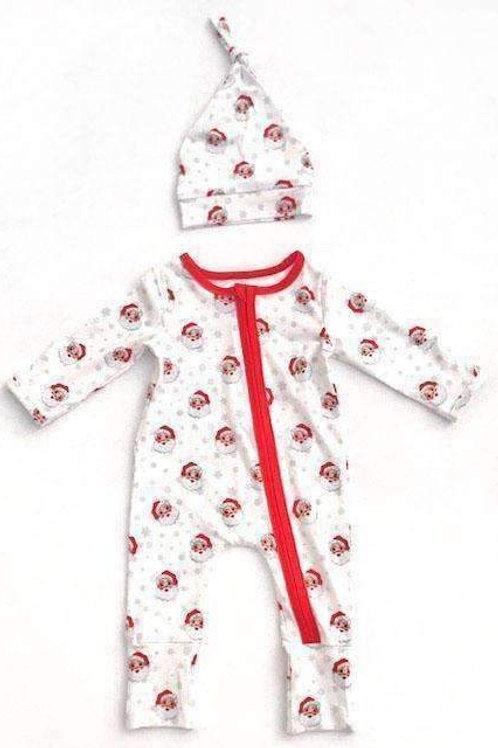 Merry Santa Baby Romper - HOLIDAY 2020