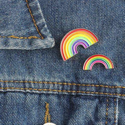 Mini Rainbow Enamel Pins