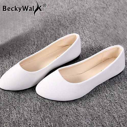 Basic Round Toe Ballet Flats