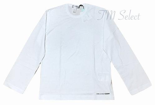 コムデギャルソン COMME des GARCONS 裾ロゴTシャツ