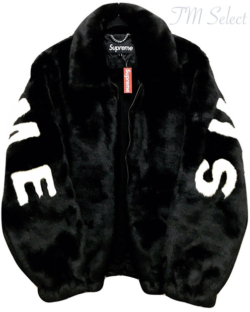 info for 30a63 f162f 大人気☆ 17SS Supreme Faux Fur Bomber Jacket Black 黒. ¥ 598,000.  カラー  ・ブラック