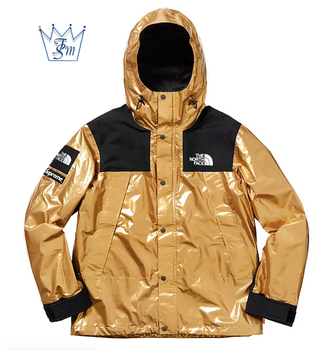 【SS18】Supreme x TNF Metallic Mountain Parka メタリック