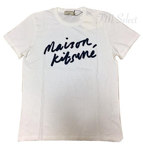 大人気★MAISON KITSUNE(メゾンキツネ) Handwritingロゴ Tシャツ