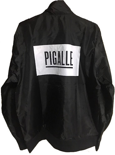 大人気★ PIGALLE(ピガール) ボックスロゴ ナイロンジャケット