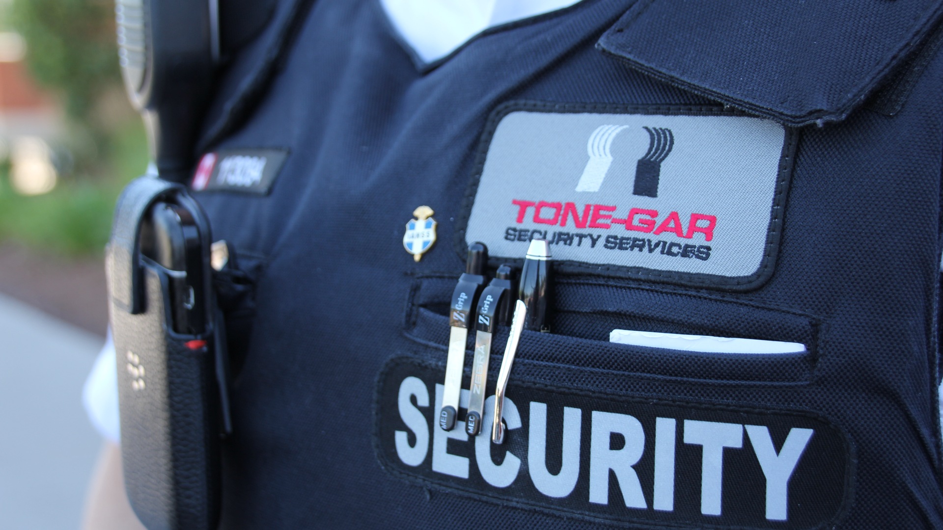 SECURITY & SERVICE GO HAND IN HAND