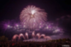 Feuerwerk Flammende Sterne
