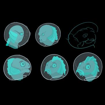 Fish Janitor Heads