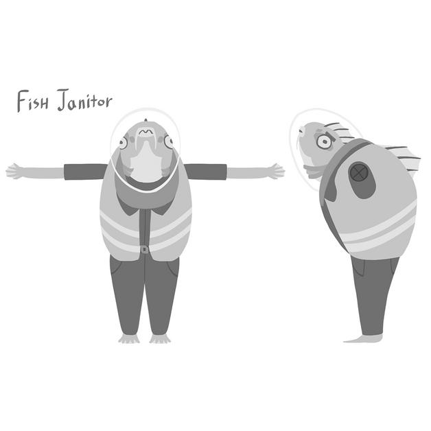 Fish Janitor Ref