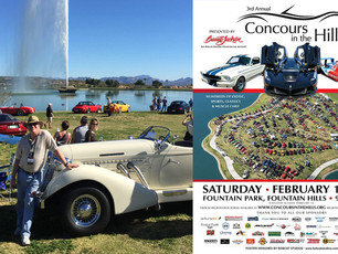 BobCat Studios Concours in the Hills Design Sponsor for Second Year