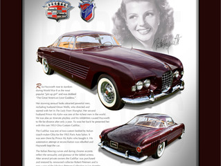 "Cadillac Custom Ghia Coupe ""Rita Hayworth"""