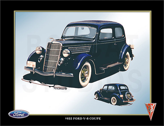 1935 FORD V8 COUPE