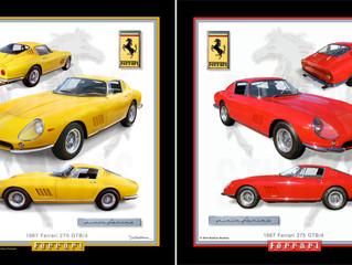 Matched Portraits of Ferrari 275 GTB/4s