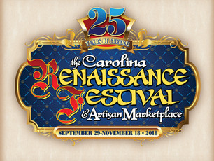 Celebrations Abound with New Anniversary Logo for the Carolina Renaissance Festival