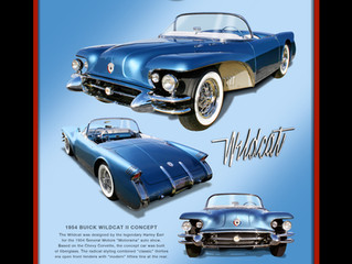 1954 Buick Wildcat II Concept Recreation