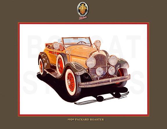 1930 PACKARD ROADSTER