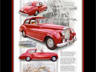Frank Lloyd Wright Automotive Portrait II