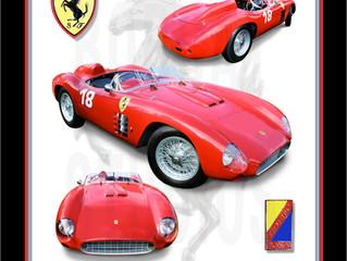 Classic Ferrari 'Testarossa' Portrait