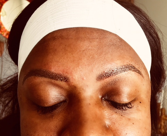 After Results of Microblading