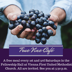 True_Vine_Café_free_meal_at_vienna_first_united_methodist_church,_vienna_fumc_church_vienna_li