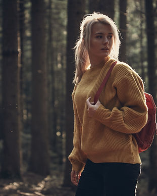 Woman Hiking Outdoor