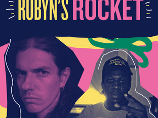 Performing Music and Poetry at Robyn's Rocket